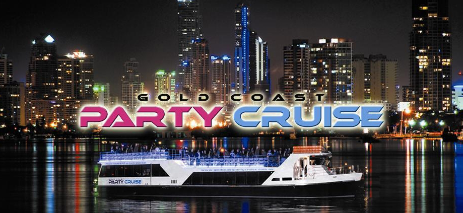 Gold Coast Party Cruise at night